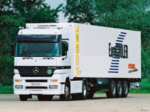 Mercedes Actros MP1 Mega