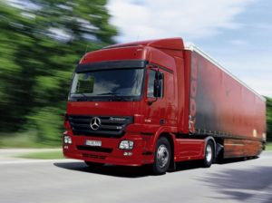 Mercedes Actros MP2