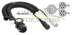 Cablu Electric Y Adaptare De La 15 La 2x7 Pini Fise Plastic