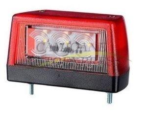Lampa Nr.inmatriculare Lumina Led