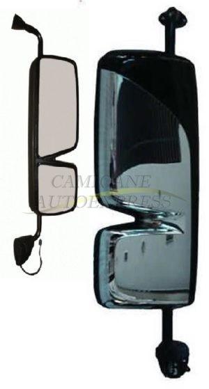 Oglinda Dreapta Completa MERCEDES ACTROS MP 3 Cromata Reglaj Electric