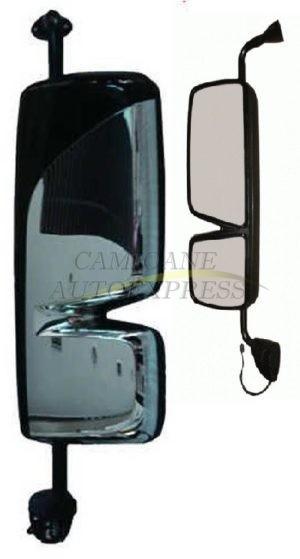 Oglinda Stanga Completa MERCEDES ACTROS MP 3 Cromata Reglaj Electric