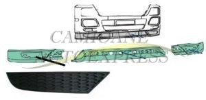 Ornament Colt Spoiler Dreapta Mercedes Actros MP3 Mega