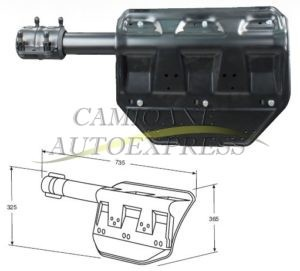 Suport Aparatoare Noroi Dreapta Spate Scania-R