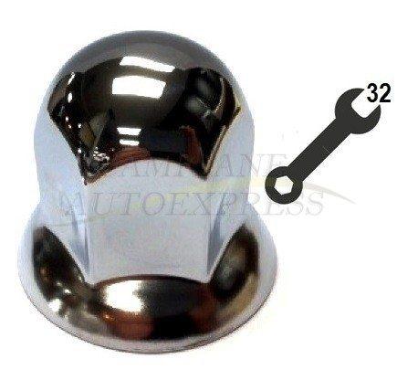 Capac Piulita Roata Metal Cromat M32
