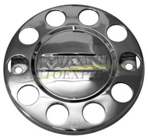 Capac Roata Metal Cromat Logo MAN