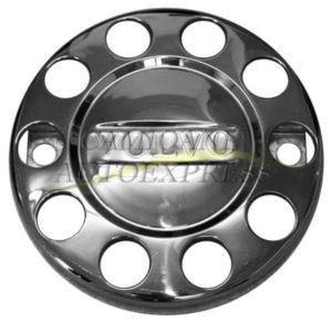 Capac Roata Metal Cromat Logo VOLVO