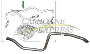 Conducta Metalica Circuit Racire Retarder DAF XF105