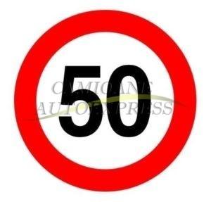 Abtibild Limitare Viteza 50