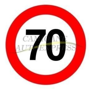 Abtibild Limitare Viteza 70