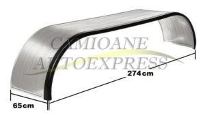 Aparatoare Noroi Metal Zincat Pentru Axa Dubla 650x2740