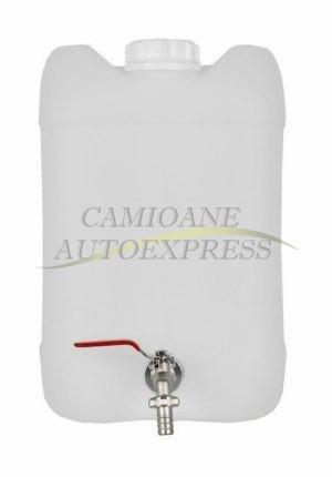 Canistra Apa Prevazuta Cu Robinet Metalic Capacitate 10 L