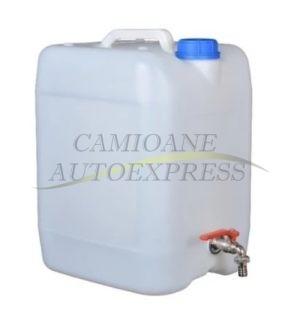 Canistra Apa Prevazuta Cu Robinet Metalic Capacitate 20 L
