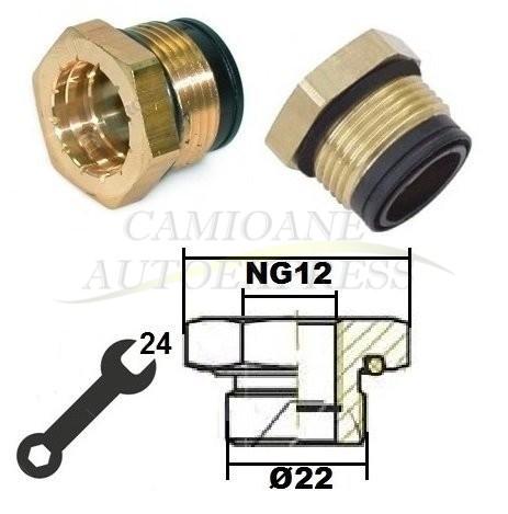 Conector M22xng12