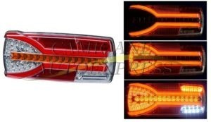 Lampa Stop Stanga Lumina Led 7 Functii Semnalizare Dinamica