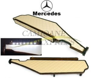 Masa Bord,lumina Led Acopeire Piele Ecologica Mercedes Actros Mp4 Big-giga Space
