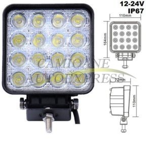 Proiector 16 Led 48w,3300 Lm