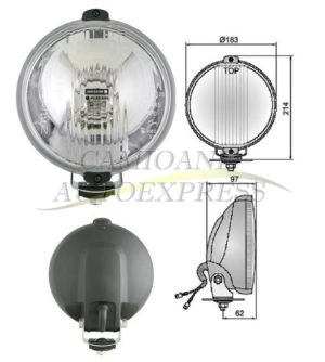 Proiector Faza Lunga Bec Halogen Cu Lumina Pozitie Cerc