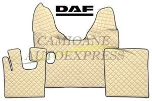 Set Complet Covorase Piele Ecologica Daf Xf105 (2007-2012) Cutie Manuala
