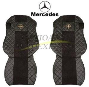 Set Huse Scaune Mercedes Actros Mp4 Piele Ecologica