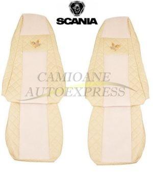 Set Huse Scaune Scania R 2008-2106 Piele Ecologica