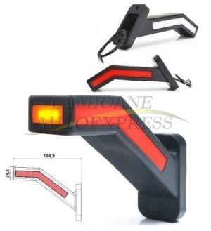 Lampa Gabarit Cu Brat Lung Stanga LED Efect Neon