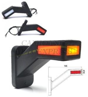 Lampa Gabarit Cu Brat Scurt Dreapta LED Efect Neon